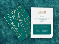 Velvett 'Thank you card'