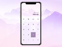 100 Days UI Challenge - 004 Calculator