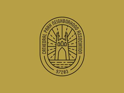 'Hood Badge neighborhood patch portland icon bridge logo badge