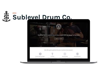 Sublevel Case Study interactive case study portfolio icons icon logo minimal clean