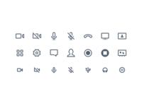 A/V Icons