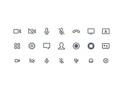 A/V Icons metalab av icons av interface icons interface ui minimal minimal icons clean icon set iconography icons