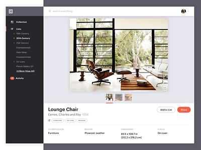 Art Platform - Color Variant graphik modern clean interface product art gallery platform design ui metalab