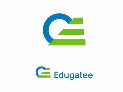 Edugate logo design concept