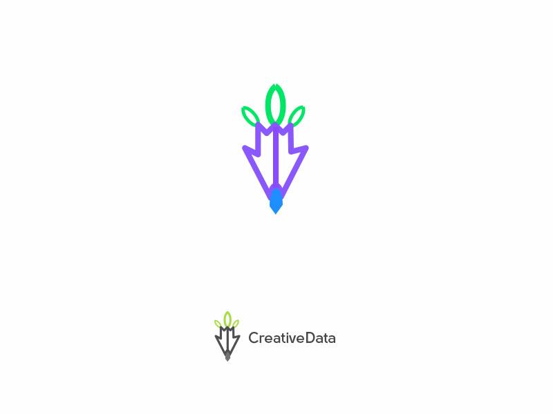 Creative data Logo template swirl psd modern mind marketing man male logo leads lead human head face digital data corporate colorful brain creative