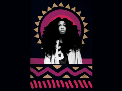 Sza Event Poster sza performance event private