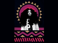 Sza Event Poster