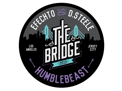 The Bridge Logo Badge humblebeast beats hiphop instrumental
