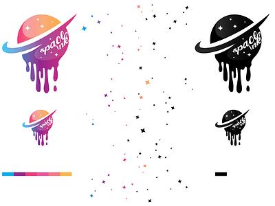 Space Ink space ink mockup illustration vector logo colorful photoshop illustrator cc design graphic graphic design