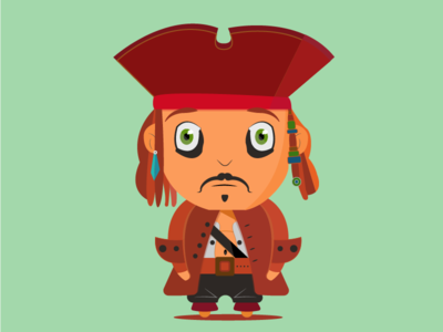 Little Pirate character design character concept character art photoshop illustration art illustration