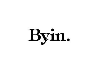 Logo Mark classic black and white simple serif logo