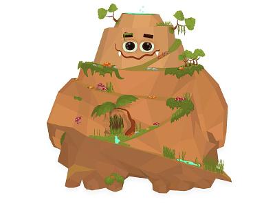 mountain art game artist game design characterdesign vector character illustrator 2d illustration game art mountain