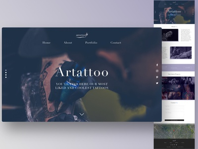 Artattoo Studio Mockup