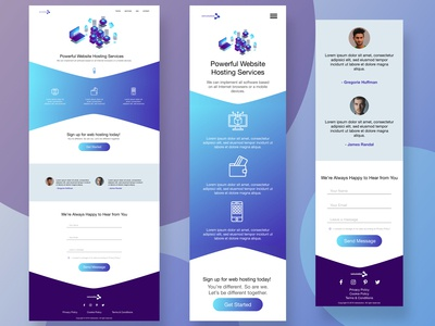 Netsolution desktop & mobile mockup