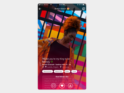 Dating App Mockup