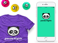 Panda Flights Logo
