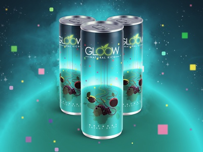 Gloow Packing design