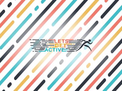 Lets Get Active Logo D