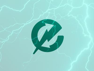 Electricity Exchange Logo icon design