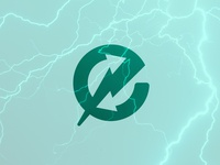 Electricity Exchange Logo icon design