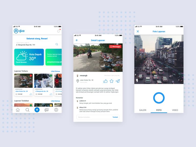 UX Case Study — Redesign Qlue App