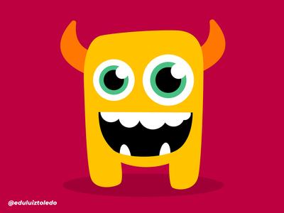 Yellow Monster!  Weird? Yes!