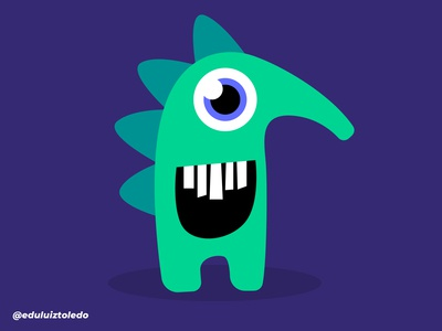 Prickly monster that goes cuteness!