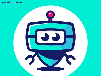 Cute little robot...