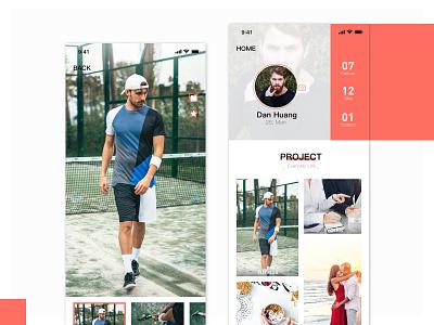 Everyday life photo photo life coach ui design