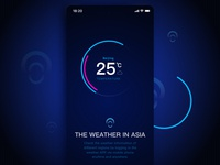 The weather in Asia