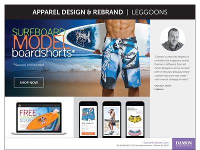 Rebrand - Leggoons