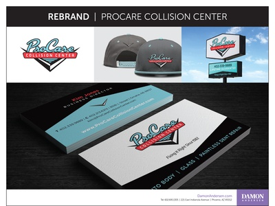 Rebrand - ProCare Collision Center