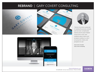 Rebrand - Gary Covert Consulting