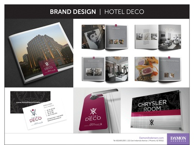 Brand Design Materials - Hotel Deco