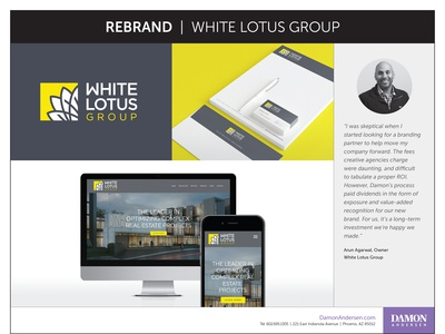 Rebrand - White Lotus Group