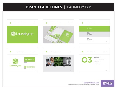 Laundrytap Rebrand & Brand Guidelines