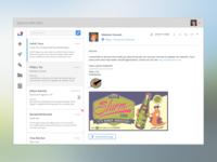 Sparrow Web App UI