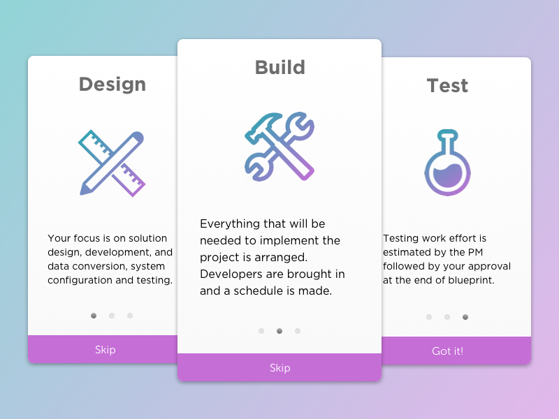 Daily UI #023 - Onboarding slides onboarding ui ux daily ui