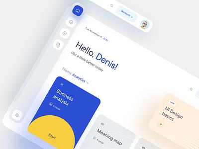 Dashboard UI graphic design web ui ux typography minimal design