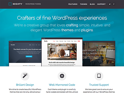 Mighty WordPress Themes