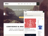 Nora WordPress Theme