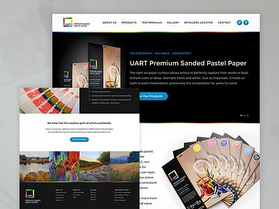 UART Website Redesign wordpress html css design ux ui wireframe planning