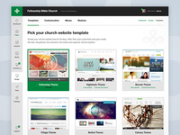 Church CMS Dashboard
