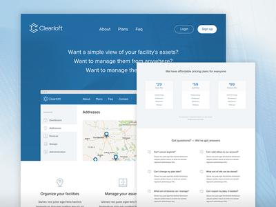 Clearloft Landing Page