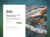 Splash Page – Fly & Stream
