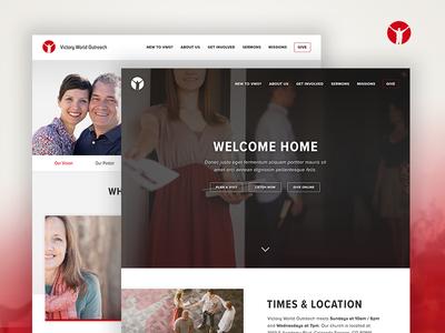 Church Website Design – VWO