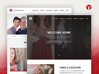 Church Website Design – VWO