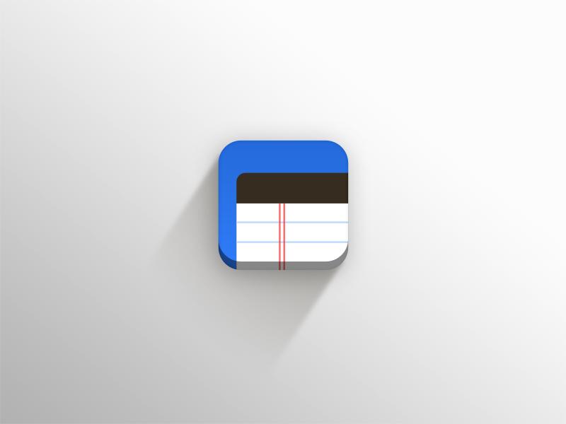 Noteroom icon dribbble