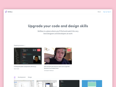 Skillbox vue comments session code learning twitch app web javascript skillbox stream live
