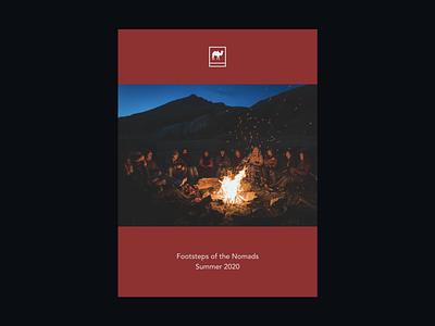 Foundlost—101 bonfire nomads footsteps mongolia travel trip teaser exploration brand expedition foundlost
